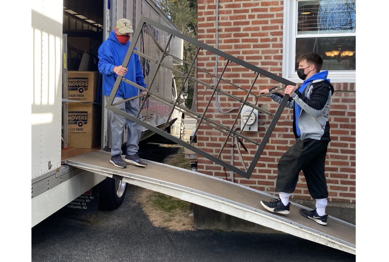 Havertown movers in action