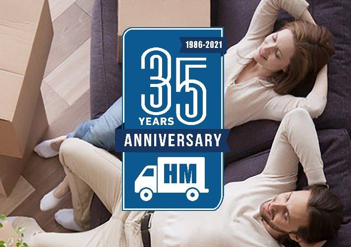 Havertown Movers | 35 Years Anniversary