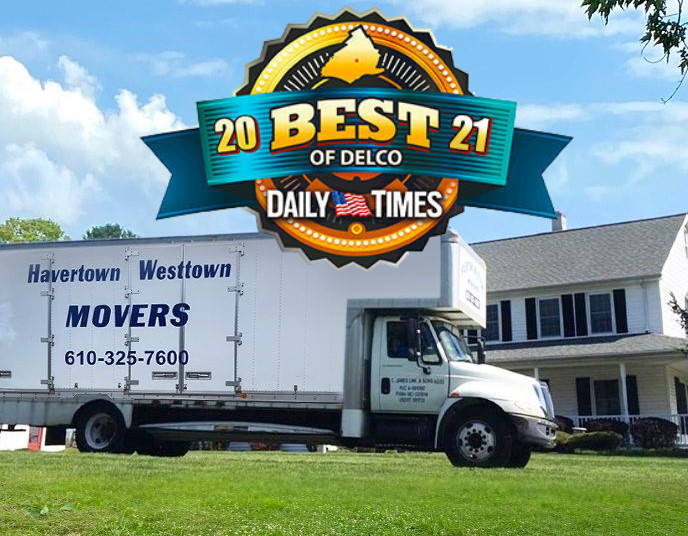 Best Movers in Delaware County - 2021